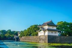 Palácio imperial bonito no Tóquio, japão imagem de stock