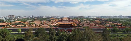 Palácio imperial (cidade proibida) Imagens de Stock