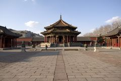 Palácio imperial de Shenyang Fotografia de Stock