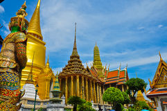 Palácio imperial de Tailândia Fotografia de Stock Royalty Free