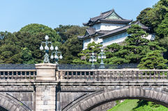 Palácio imperial do Tóquio fotografia de stock