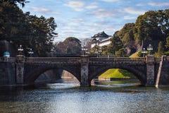 Palácio imperial em Japão, Tóquio Foto de Stock Royalty Free