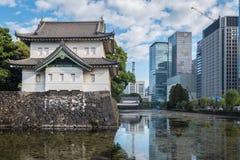 Palácio imperial em Tokyo, Japão fotografia de stock royalty free