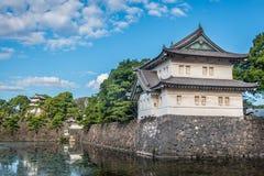 Palácio imperial em Tokyo, Japão imagem de stock