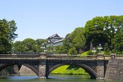 Palácio imperial no Tóquio, Japão fotos de stock royalty free