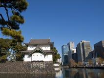 Palácio imperial, Tokyo, Japão Fotografia de Stock