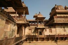 Palácio india de Orchha Fotografia de Stock Royalty Free