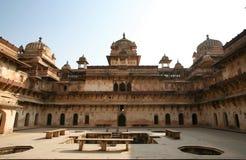 Palácio india de Orchha Fotografia de Stock