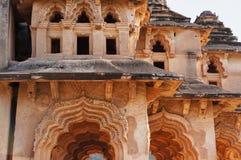 Palácio indiano antigo Lotus Mahal fotos de stock