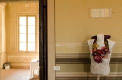 Palácio initalian histórico da exposição de arte Foto de Stock