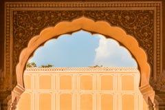 Palácio interior da cidade de Jaipur foto de stock royalty free