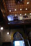 Palácio interno de Mohammed Ali - o Cairo imagens de stock