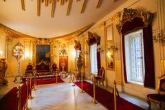 Palácio interno de Mohammed Ali - o Cairo imagens de stock royalty free