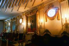 Palácio interno de Mohammed Ali - o Cairo foto de stock