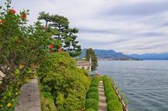 Palácio-Isola Bella-Itália 4 de Borromean Fotos de Stock Royalty Free