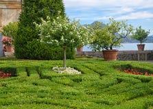 Palácio-Isola Bella-Itália 5 de Borromean Imagens de Stock
