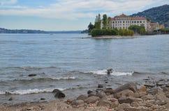 Palácio-Isola Bella-Itália 6 de Borromean Foto de Stock Royalty Free