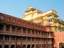 Palácio Jaipur da cidade Fotos de Stock Royalty Free
