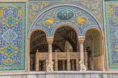 Palácio Karim Khan de Golestan de Zand Fotografia de Stock