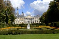 Palácio, la granja de San Ildefonso fotos de stock royalty free