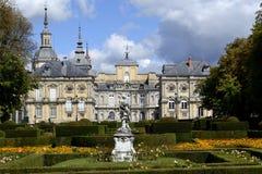 Palácio, la granja de San Ildefonso fotografia de stock royalty free