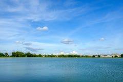Palácio local da paisagem do cenário da cidade no na de Nakhonprathom Tailândia Fotografia de Stock Royalty Free