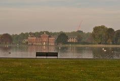 Palácio Londres dos jardins de Kensington Fotos de Stock