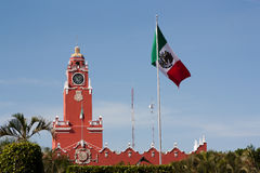 Palácio municipal em Merida imagens de stock royalty free