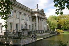 Palácio na água fotos de stock royalty free