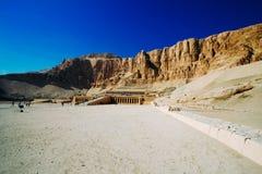 Palácio na cidade de Luxor imagem de stock