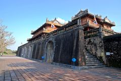Palácio na matiz, Vietnam do imperador Imagens de Stock Royalty Free