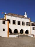 Palácio nacional da cidade de Sintra, Portugal Fotos de Stock