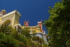 Palácio nacional de Pena fotografia de stock royalty free