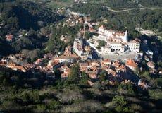 Palácio nacional de Sintra Imagem de Stock