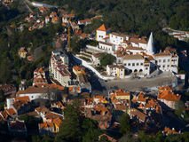 Palácio nacional de Sintra Fotografia de Stock Royalty Free