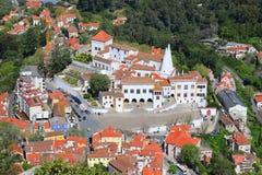 Palácio nacional de Sintra, Portugal Imagens de Stock Royalty Free