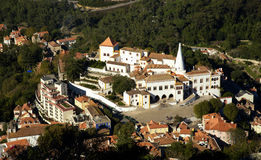 Palácio nacional em Sintra Portugal Foto de Stock