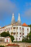 Palácio nacional no sintra Imagem de Stock Royalty Free
