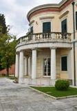 Palácio no console de Corfu, Greece Imagens de Stock Royalty Free