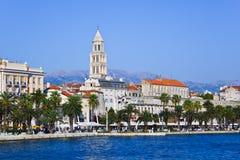 Palácio no Split, Croatia de Diocletian Imagens de Stock Royalty Free