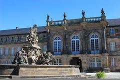 Palácio novo Bayreuth Fotografia de Stock Royalty Free