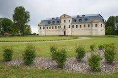 Palácio novo de Kraslavas fotografia de stock