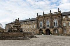 Palácio novo em Bayreuth, Alemanha, 2015 fotografia de stock royalty free