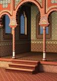 Palácio oriental Fotos de Stock