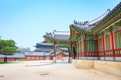 Palácio ou Changdeokgung de Changdeok o 17 de junho de 2017 em mares do verão Imagens de Stock