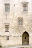 Palácio papal de Avignon Foto de Stock Royalty Free