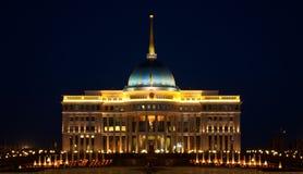 Palácio presidencial de Ak Orda em Astana, Kazakhstan Fotos de Stock Royalty Free