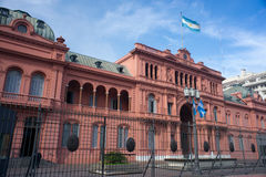Palácio presidencial de Argentina fotografia de stock