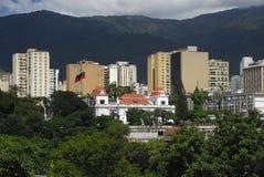 Palácio presidencial de Miraflores em Caracas foto de stock