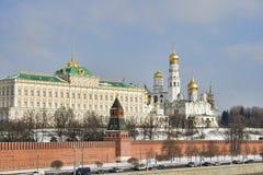 Palácio presidencial de Moscovo Kremlin Imagens de Stock Royalty Free